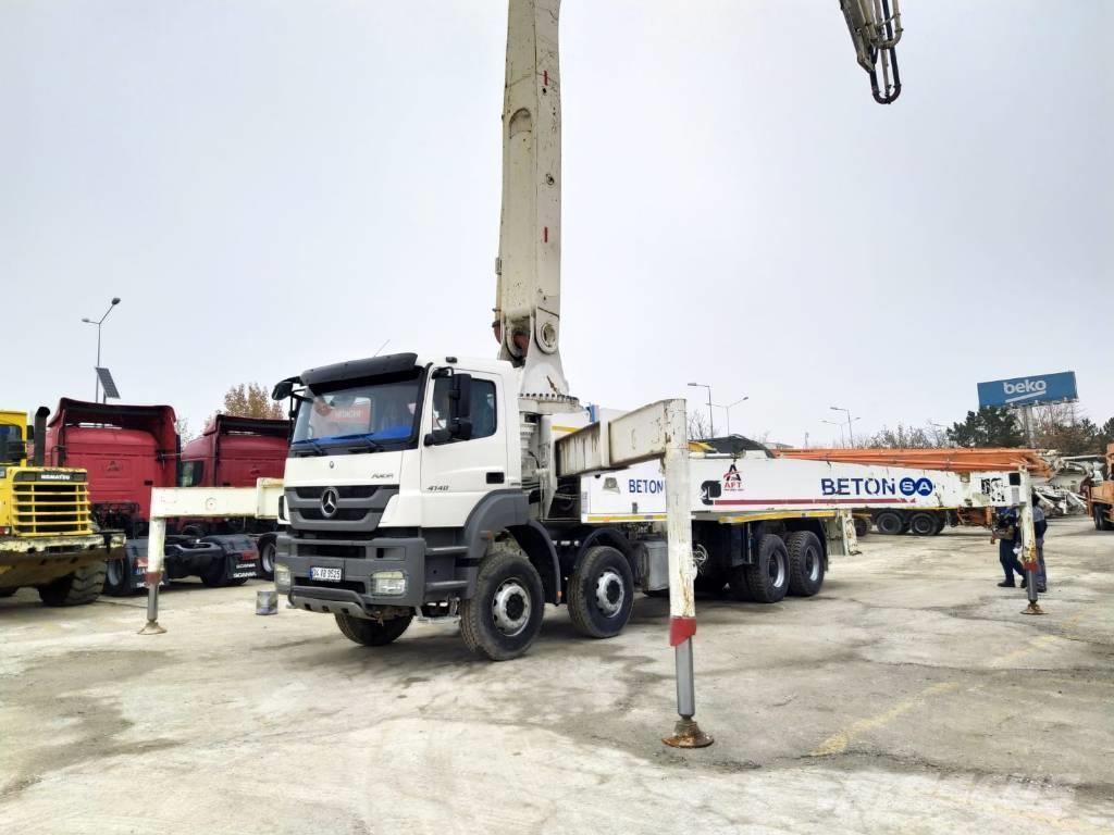 Mercedes-Benz 2014 4140 47 M CONCRETE PUMP