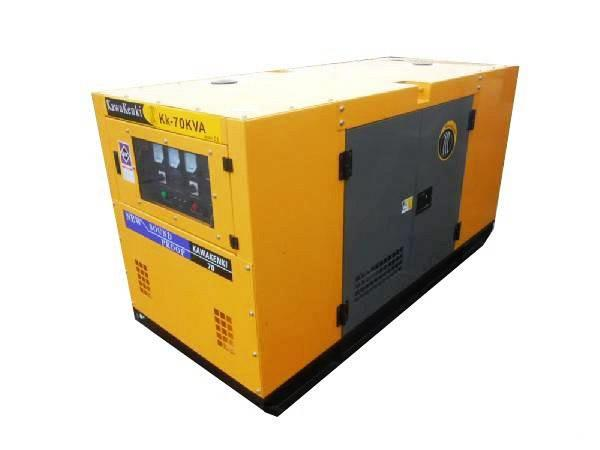Javac 70 KVA Generator - Aggregaat - Kawakenki KK70