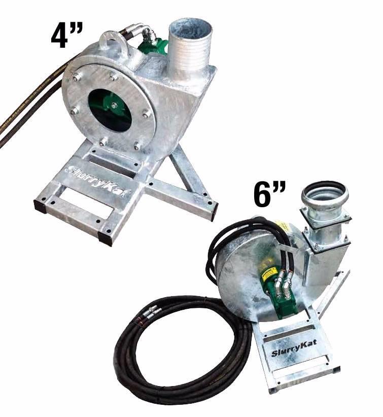 """SlurryKat Hydraulikk pumpe SlurrySub 4"""" fra"""