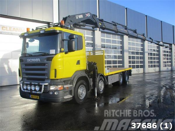 Scania R 620 8x4 V8 Hiab 60 ton/meter Kran