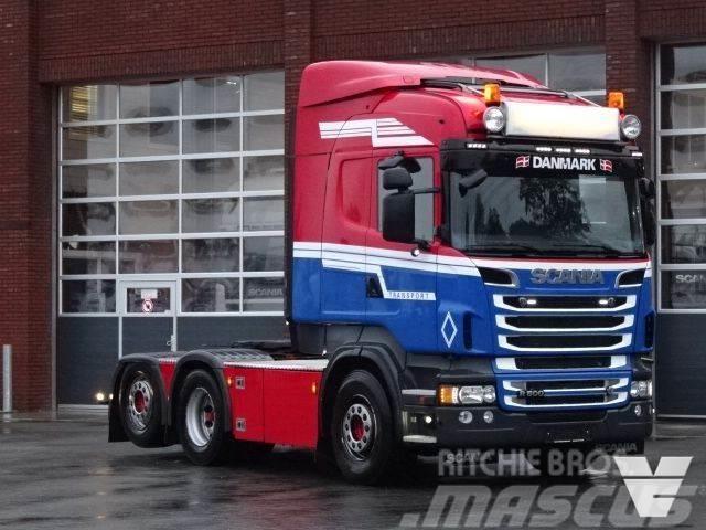 Scania R500 - Highline - Custom interior - PTO - Tipper -