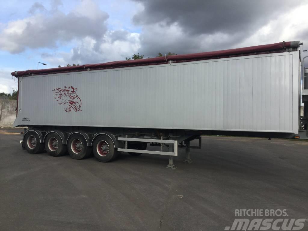 AMT Trailer TK400 4 akslet tip trailer