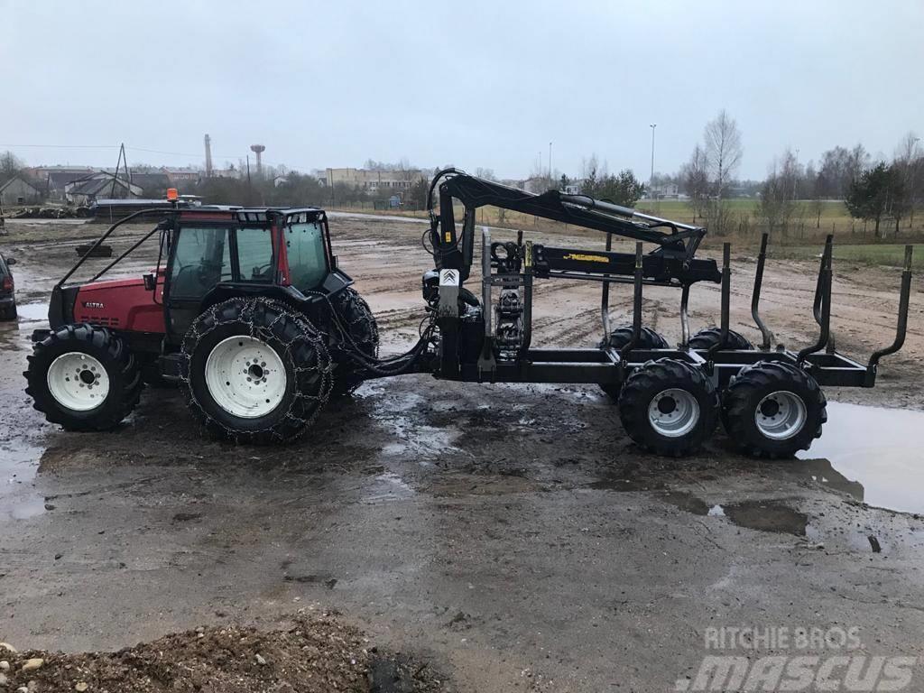 Valtra HI-TEC + PALMS 15D 2WD BLACK BRUIN 6850