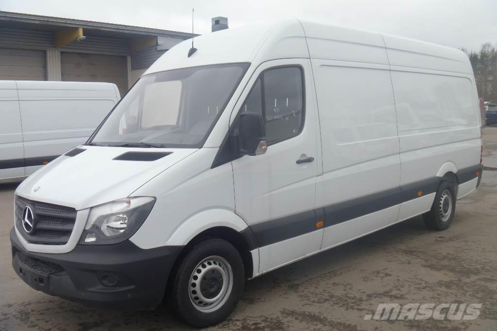 Used Mercedes Sprinter >> Mercedes Benz Sprinter 316cdi 3 5 43k Pitka Be
