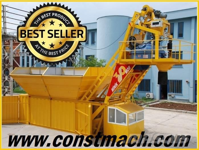 Constmach 20 m3/h COMPACT CONCRETE PLANT – CALL NOW !