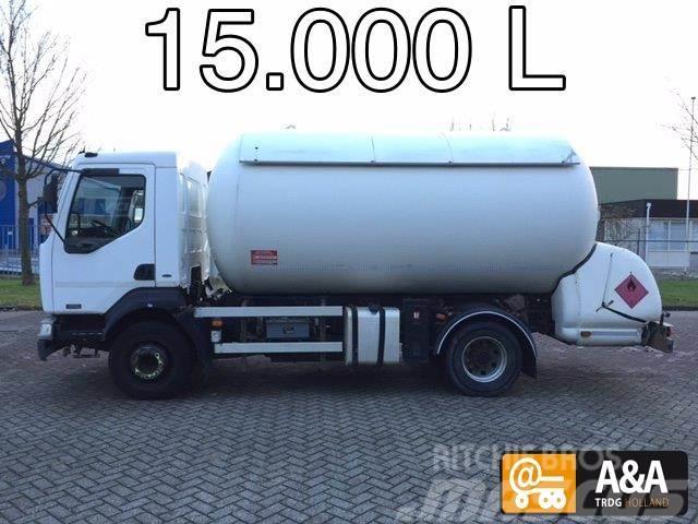 Renault Midlum 220 4x2 LPG GPL PROPANE (BUTANE) GAS GAZ 15