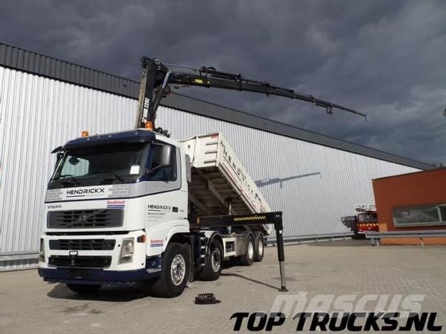 Volvo FH 440 - 8x4 - HIAB 22 TM Kraan, Crane, Kran - Win