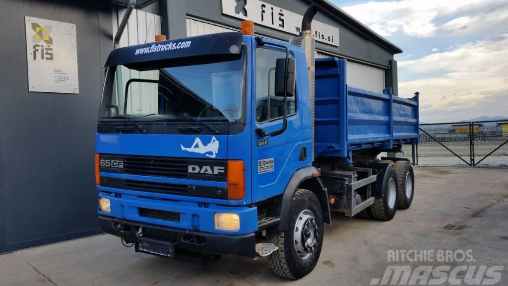 DAF CF 65.290 6X4 tipper - euro 2