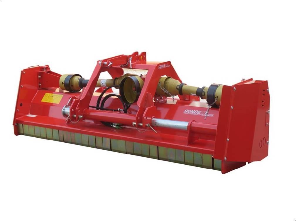 Concept Perugini DT280 Super Slagleklipper Front eller