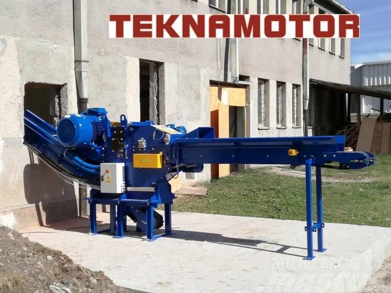 Teknamotor Skorpion 250 EB Trommelhacker Holzhacker