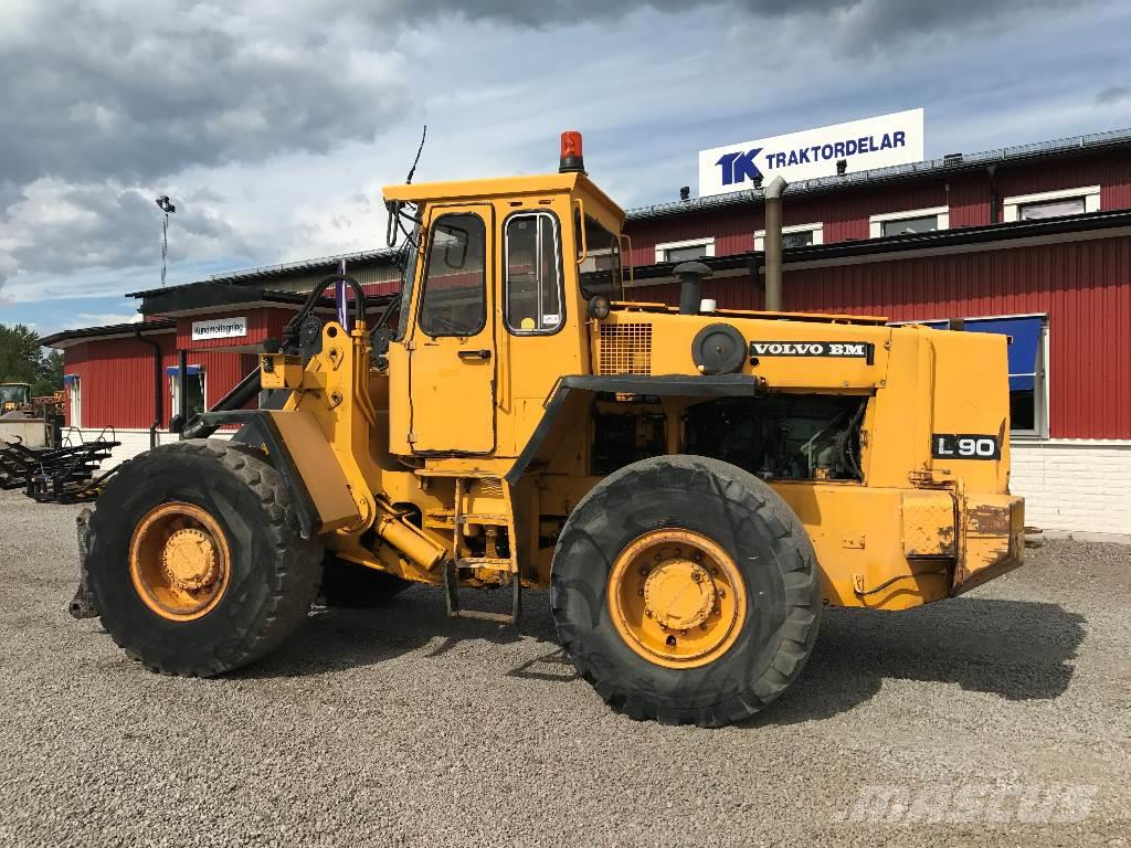 Used Volvo L 90 wheel loaders Year: 1987 Price: $14,034 for sale - Mascus USA