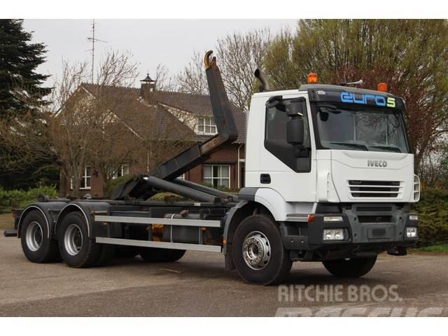 Iveco Trakker 450 6x4 HAAK/ABROLLKIPPER EURO 5!