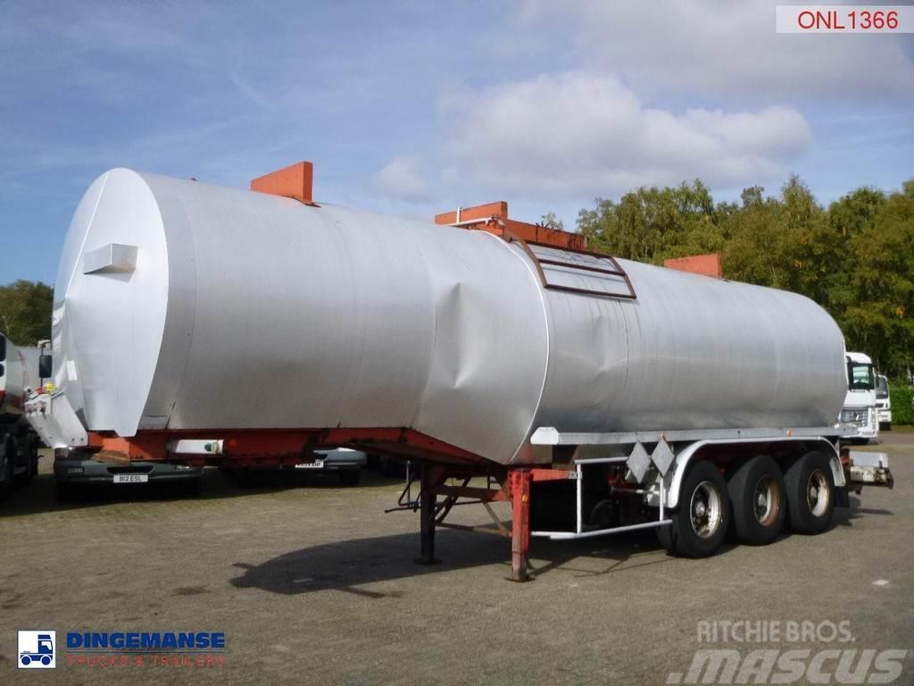 Fruehauf Bitumen tank steel 31 m3 / 1 comp