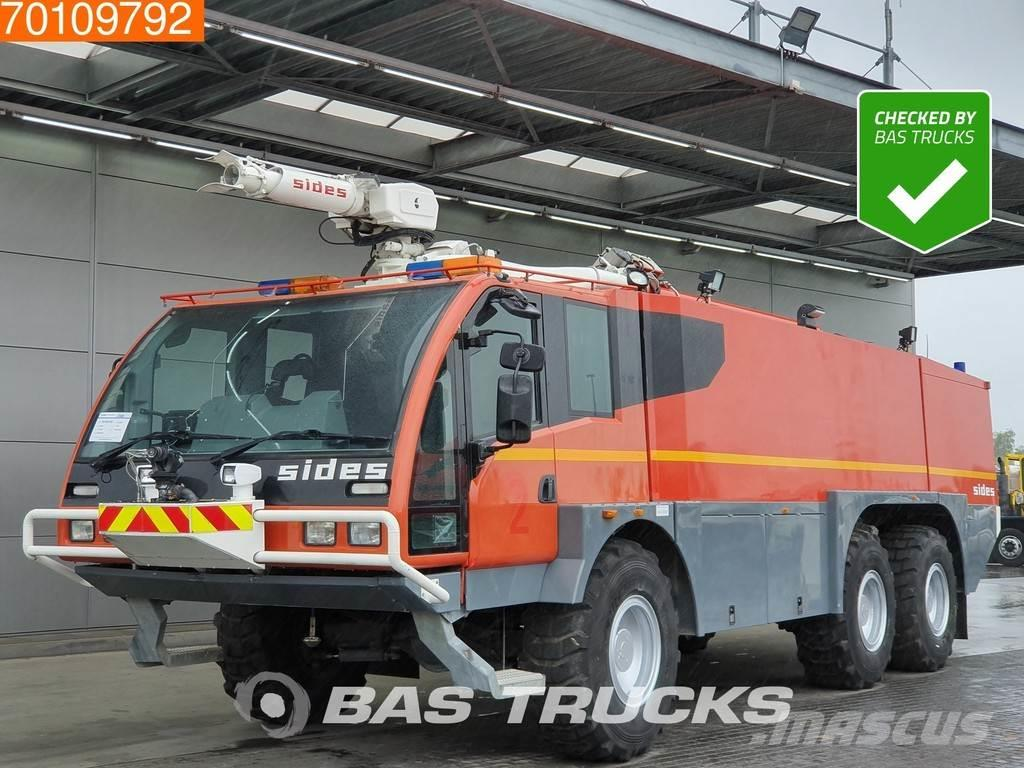 Renault 6X6 Crashtender Fire Truck S3000 6x6 Telma - powde