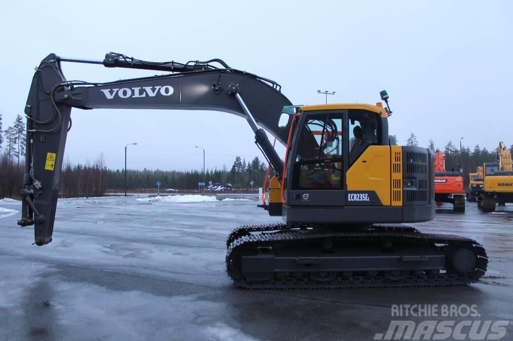 Volvo ECR 235 EL / MYYTY, SOLD
