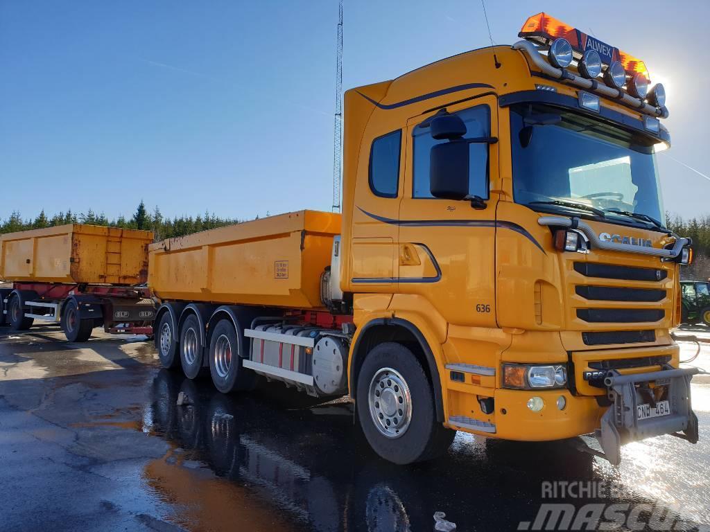 Scania R560 8X4*4 - SLP KASSETT NY BESIKTIGAT