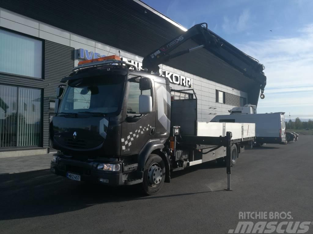 Renault MIDLUM 260.16 Hiab 099 E-5 HIDUO