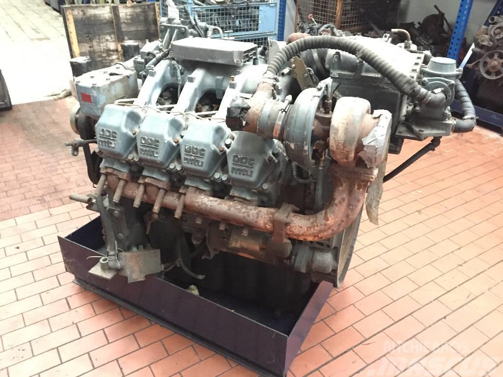 Detroid Diesel MTU S2000 V8 / S 2000 V 8_engines   Pre Owned