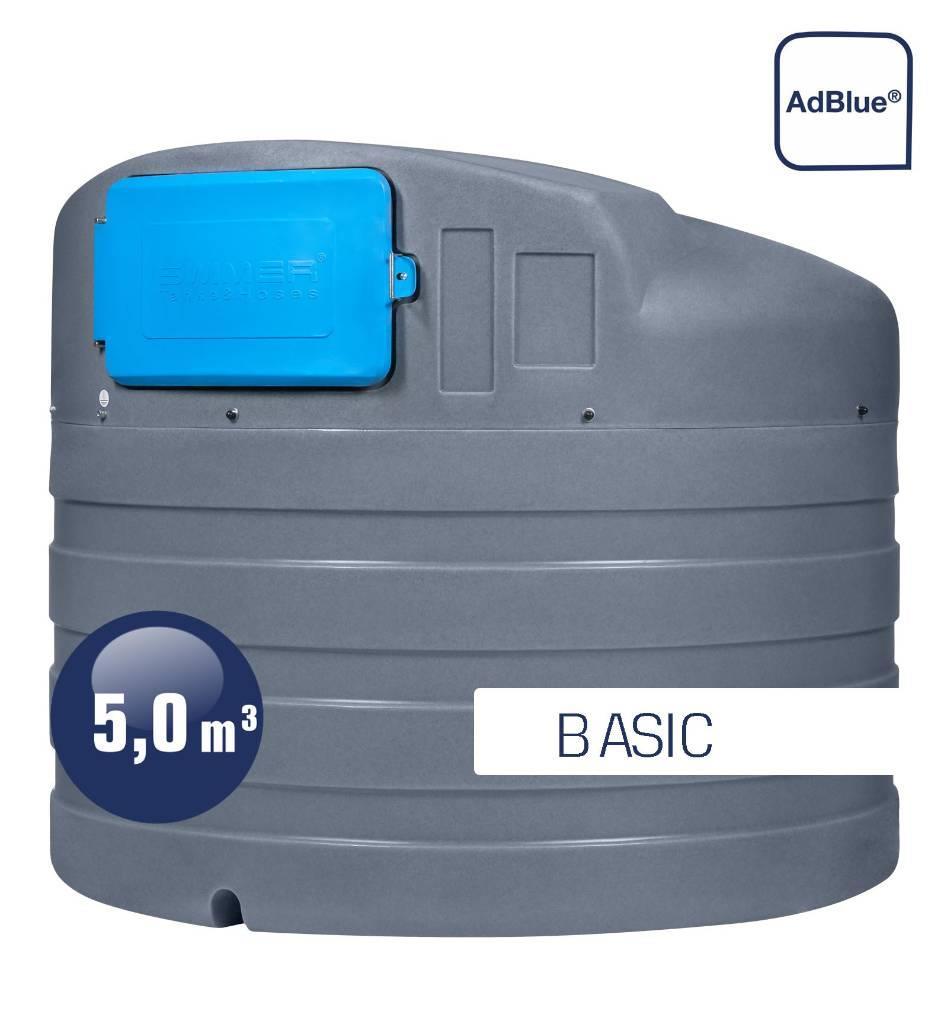 Swimer Tank Blue 5000 Eco-line Basic dwupłaszczowy