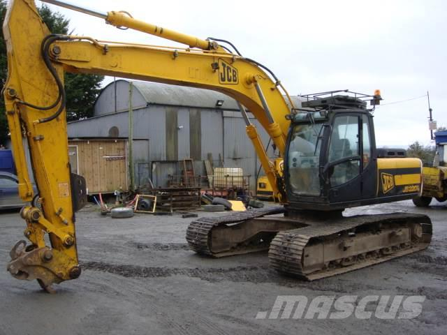 JCB JS220 dismantling for parts only JS220 LC