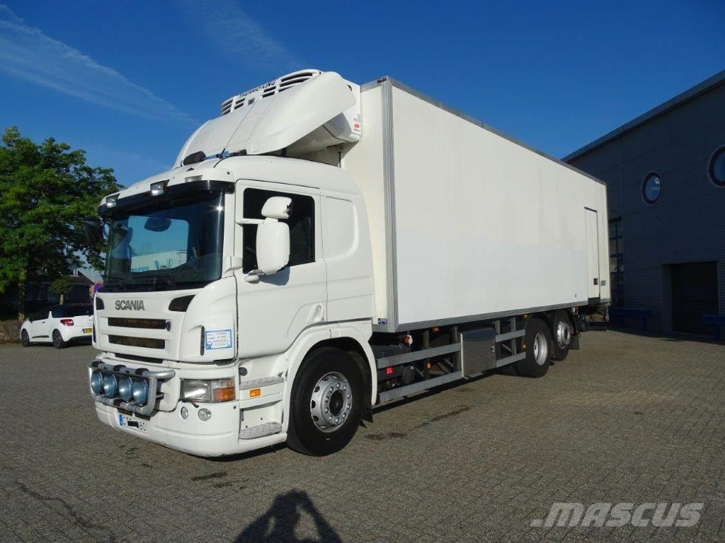 Scania P340 / 6X2 / MANUAL / COOLING BOX WITH INGERSOLL-R