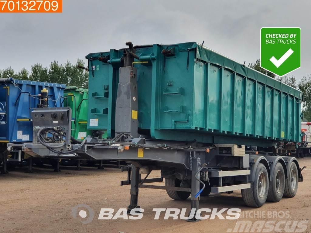 Krampe SHL-30 Abroller / Haken + Container Liftachse Hyva