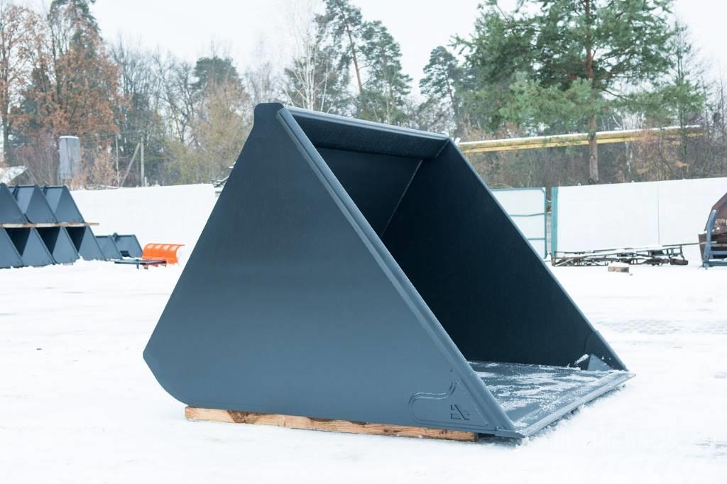 [Other] АТОМ Ковш для телескопического погрузчика Cat 4 м.