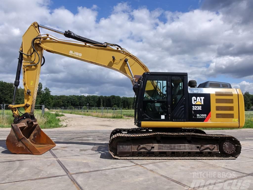 Caterpillar 323EL CE + EPA / good working condition