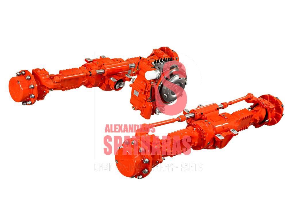 Carraro 64114seals and brake discs