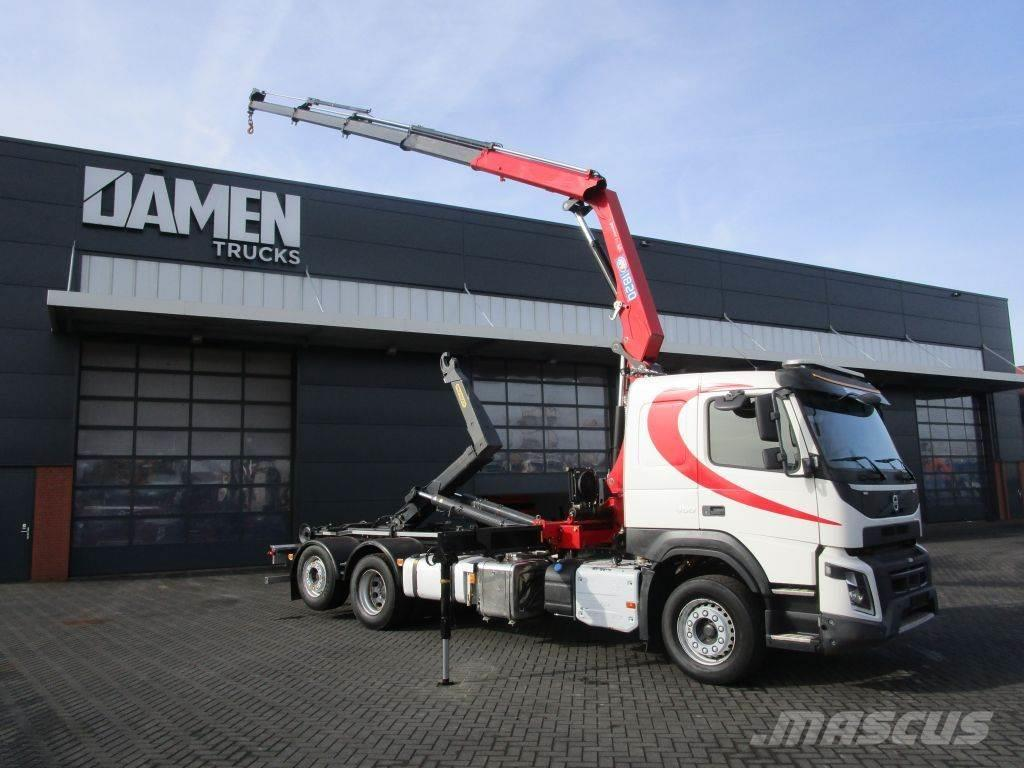 Volvo FMX 450 6x2 Euro 6 Haak/Kraan