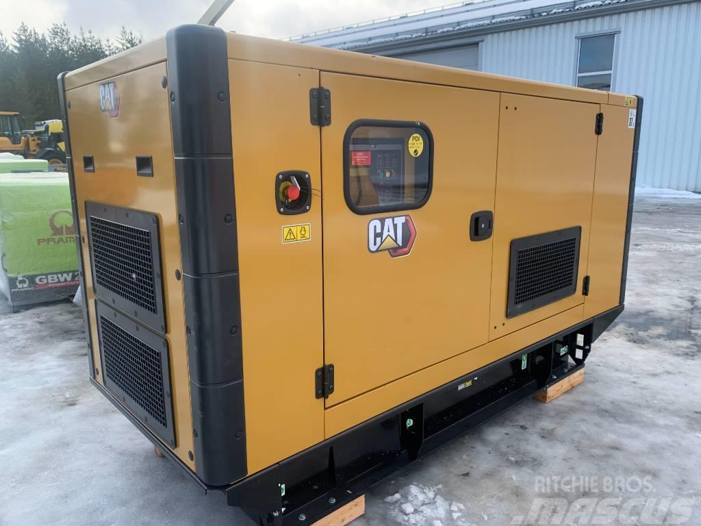 Caterpillar CAT 110kVA fabriksnytt elverk 199.000:-+m