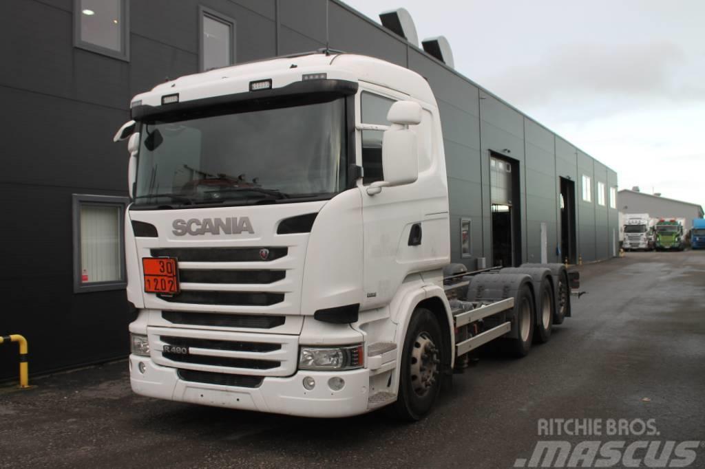 Scania R 490 LB8X4*4 Euro 6