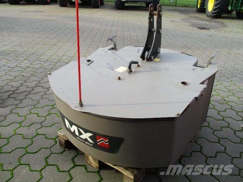 Mailleux MX 600kg + 400kg Frontgewicht