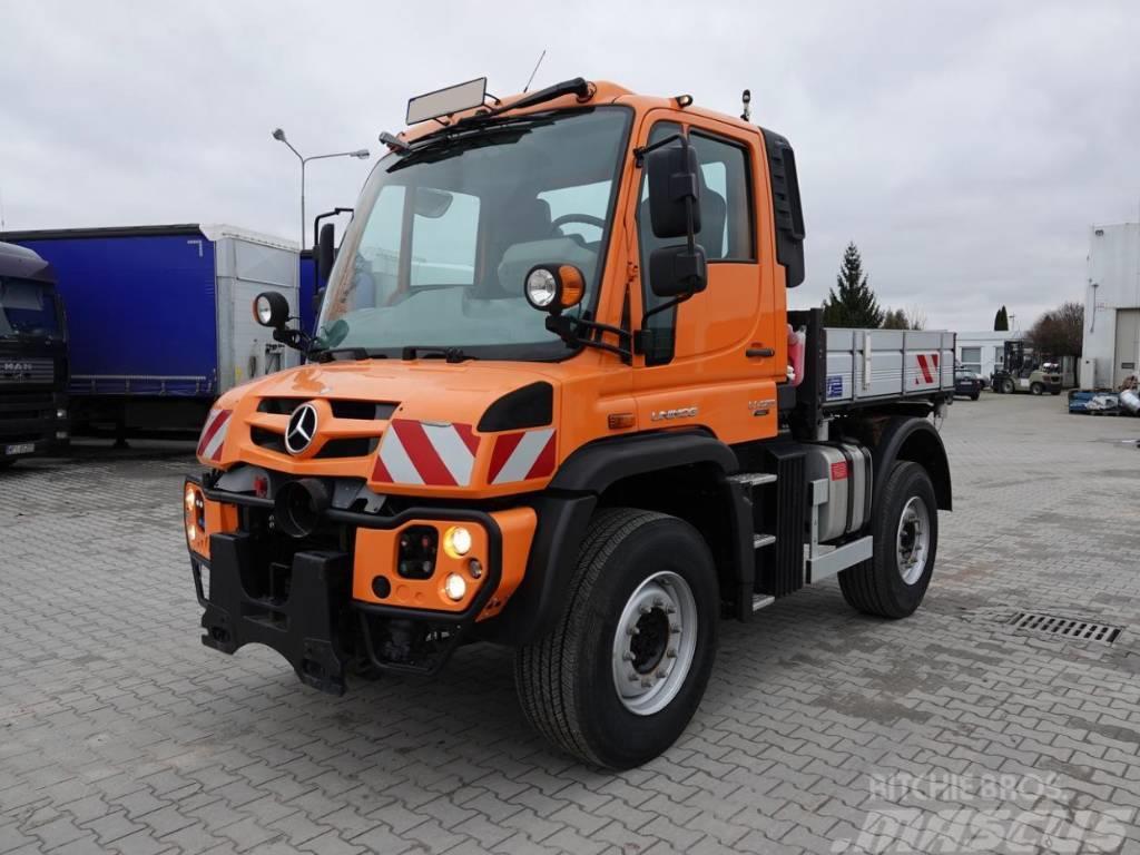 Mercedes-Benz Unimog U423 / 4x4 / 30 kkm / AC / RETARDER
