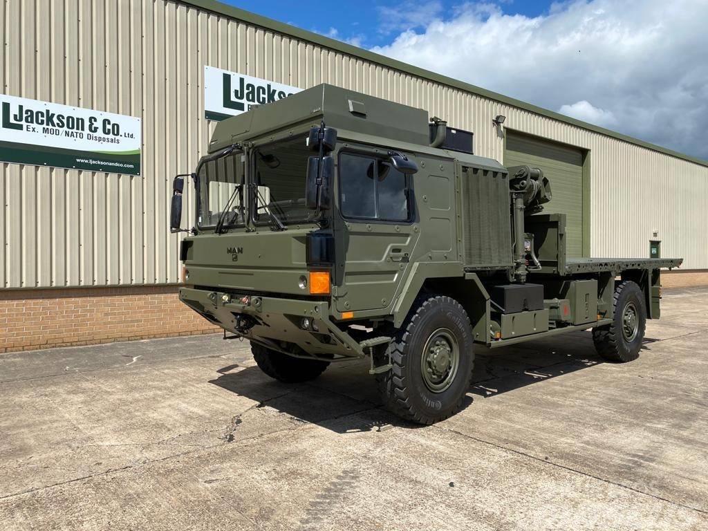 MAN 18.330 4x4 Crane Truck Ex Military