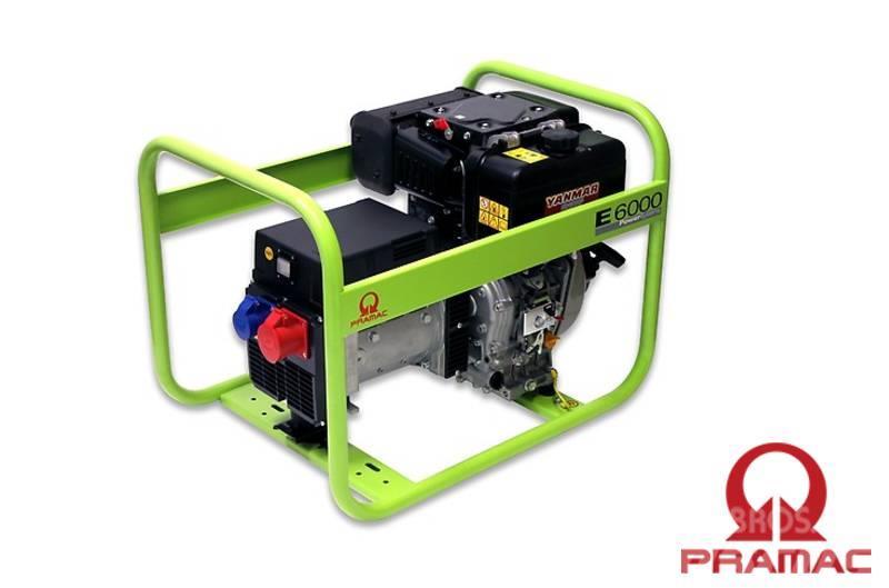Pramac E6000 400/230 6.9 / 4 kVA