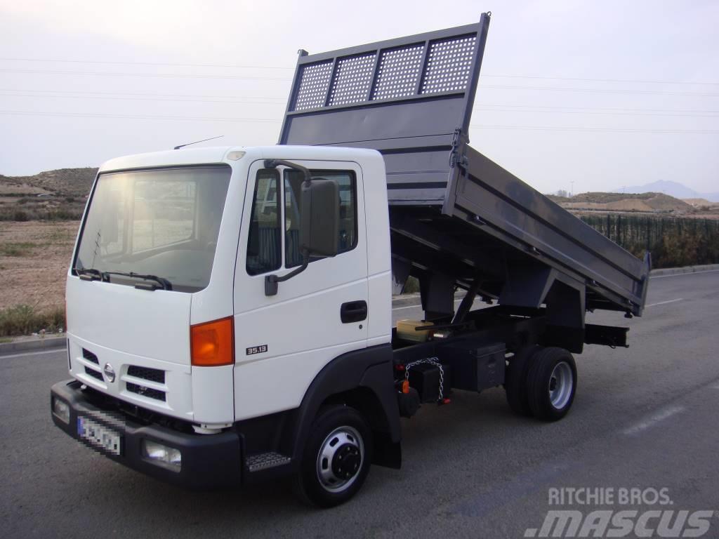 used nissan atleon 3513 volquete dump trucks year 2005. Black Bedroom Furniture Sets. Home Design Ideas