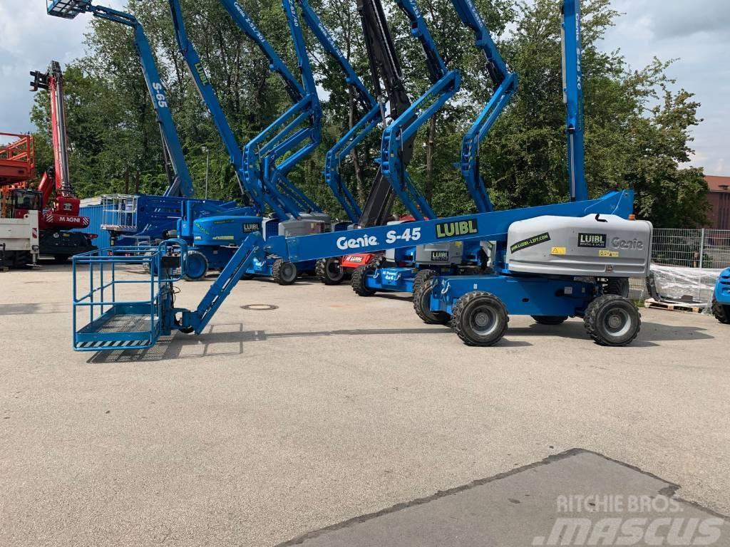 Genie S45, 16m boom lift