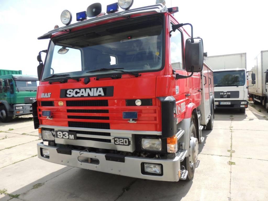 Scania 93 M 280 Wóz Strażacki – Pożarniczy 1992r