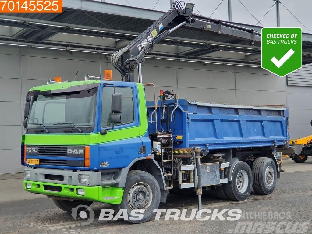 DAF 75CF290 6X2 NL-Truck Manual Lenkachse Euro 3 Hiab