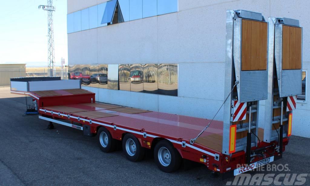 Rojo Trailer Semirremolque Porta-maquinas ROJO GP3