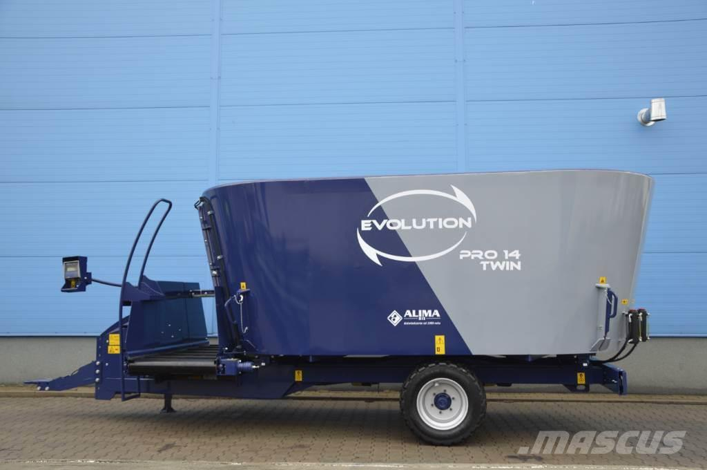 [Other] ALIMA BIS EVOLUTION 14 PRO TWIN MIXER WAGON