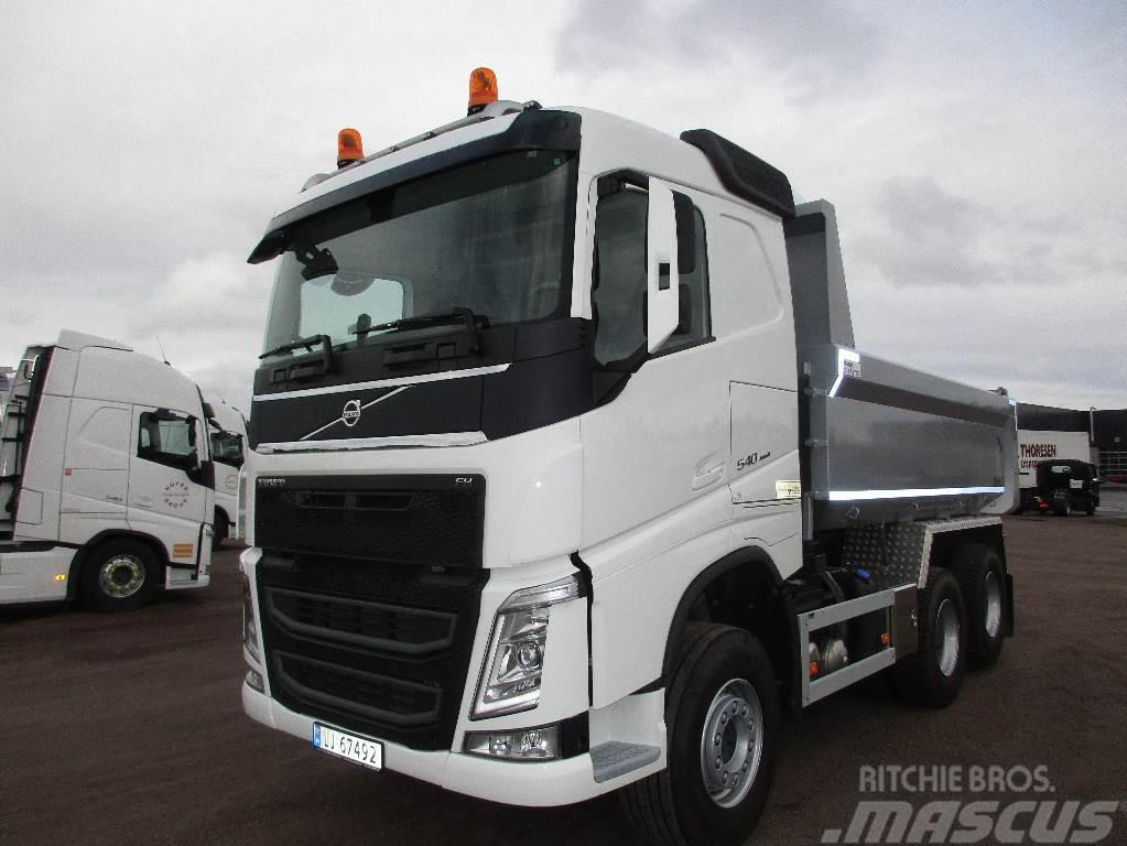 Volvo FH540 6x4 tandemløft