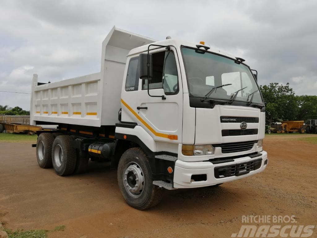 Nissan Diesel Truck >> Nissan Ud290 10 Cube Tipper Truck