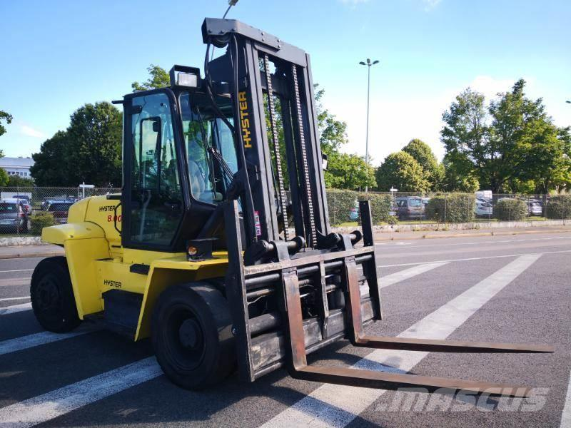 hyster h8 00xm occasion senlis prix 28 800 ann e d 39 immatriculation 2002 autres chariots. Black Bedroom Furniture Sets. Home Design Ideas