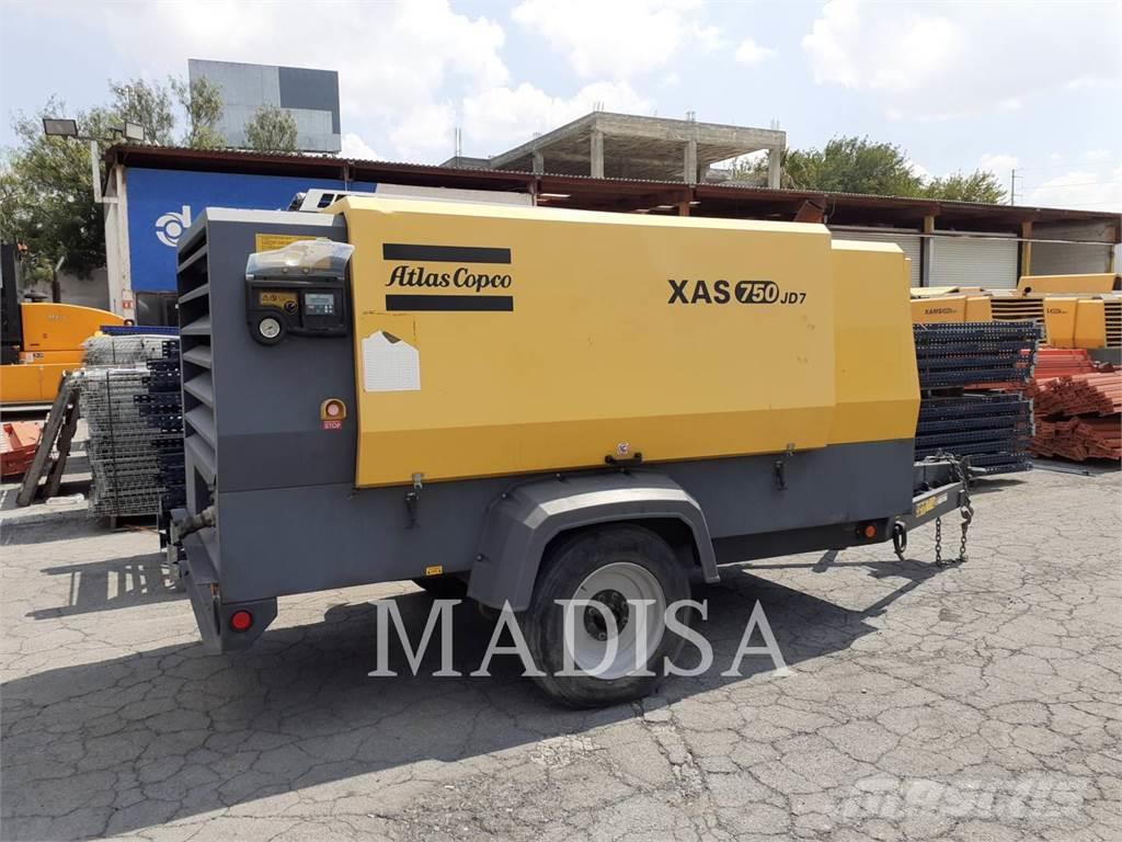 Atlas Copco XAS750 JD