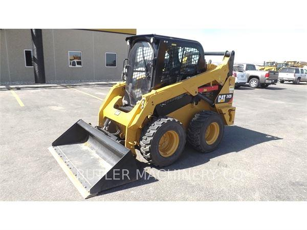 Caterpillar 242D, 2015, Skid steer loaders