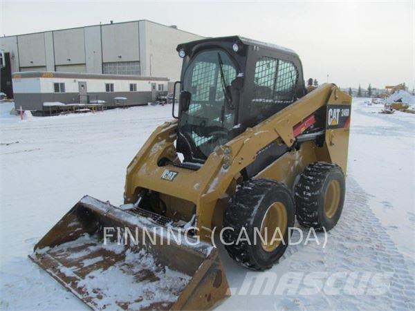 used caterpillar 246dlrc skid steer loaders year  2014