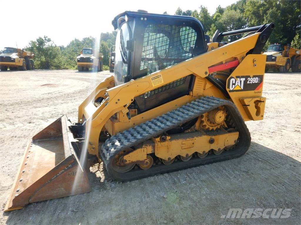 Caterpillar 299 D 2, 2016, Skid steer loaders ...