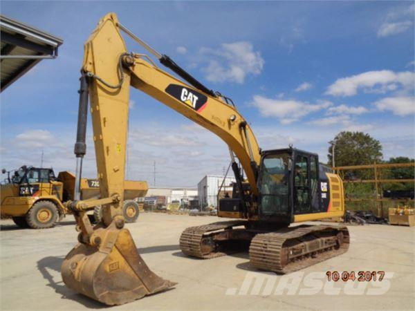 Caterpillar 320EL, 2012, Crawler Excavators